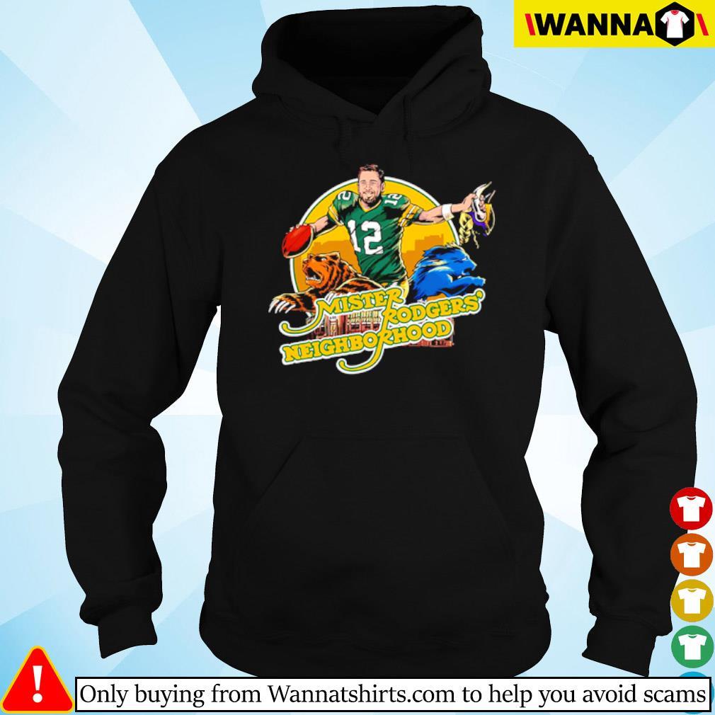 Mister Rogers' Neighborhood s hoodie black