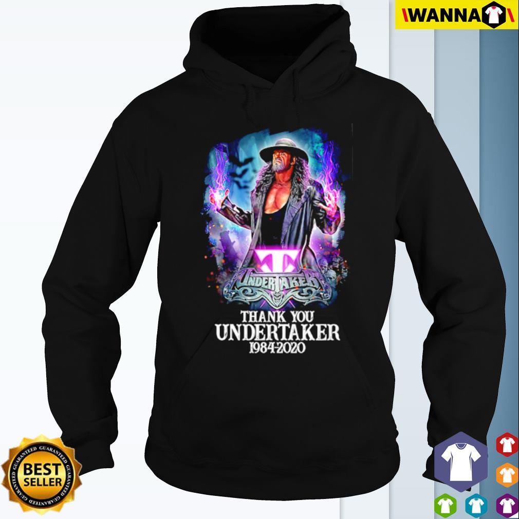 Thank you Undertaker 1984 – 2020 s Hoodie