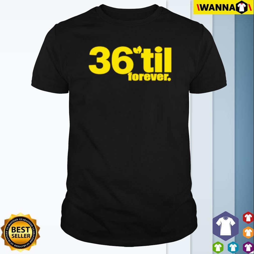 Wu-Tang Clan band 36 til forever shirt
