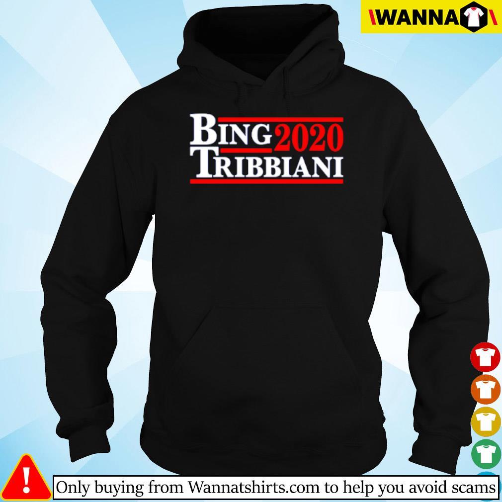 2020 Bing Tribbiani s hoodie black