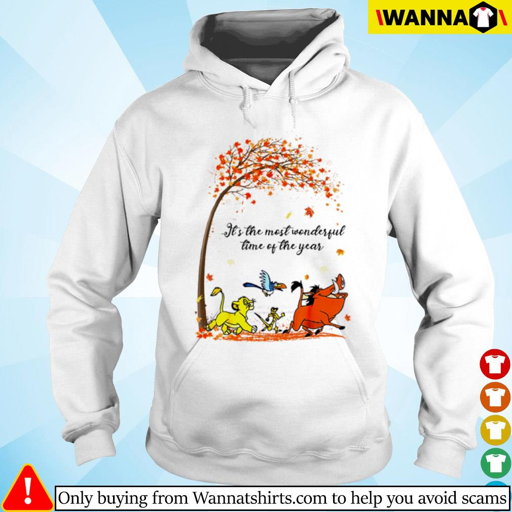 Autumn Hakuna Matata it's the most wonderful time of the year s hoodie