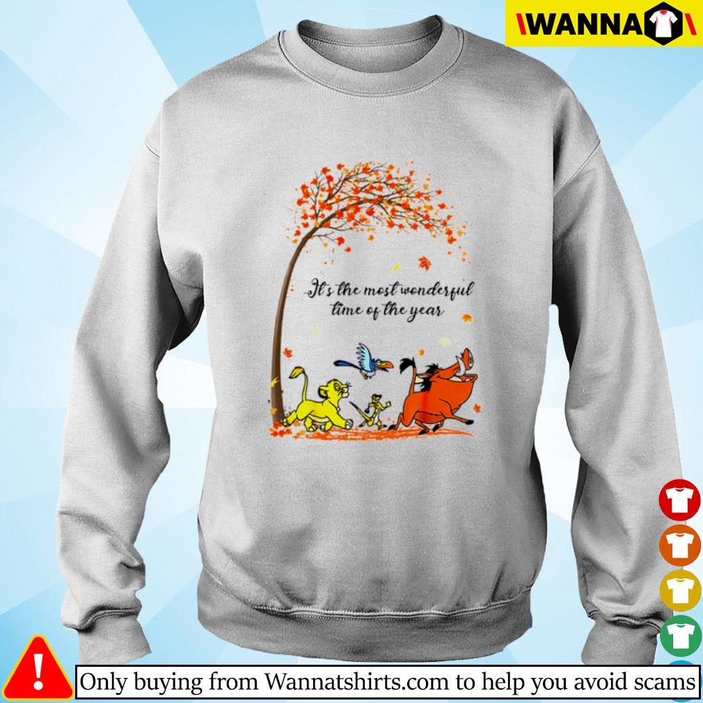 Autumn Hakuna Matata it's the most wonderful time of the year s sweater