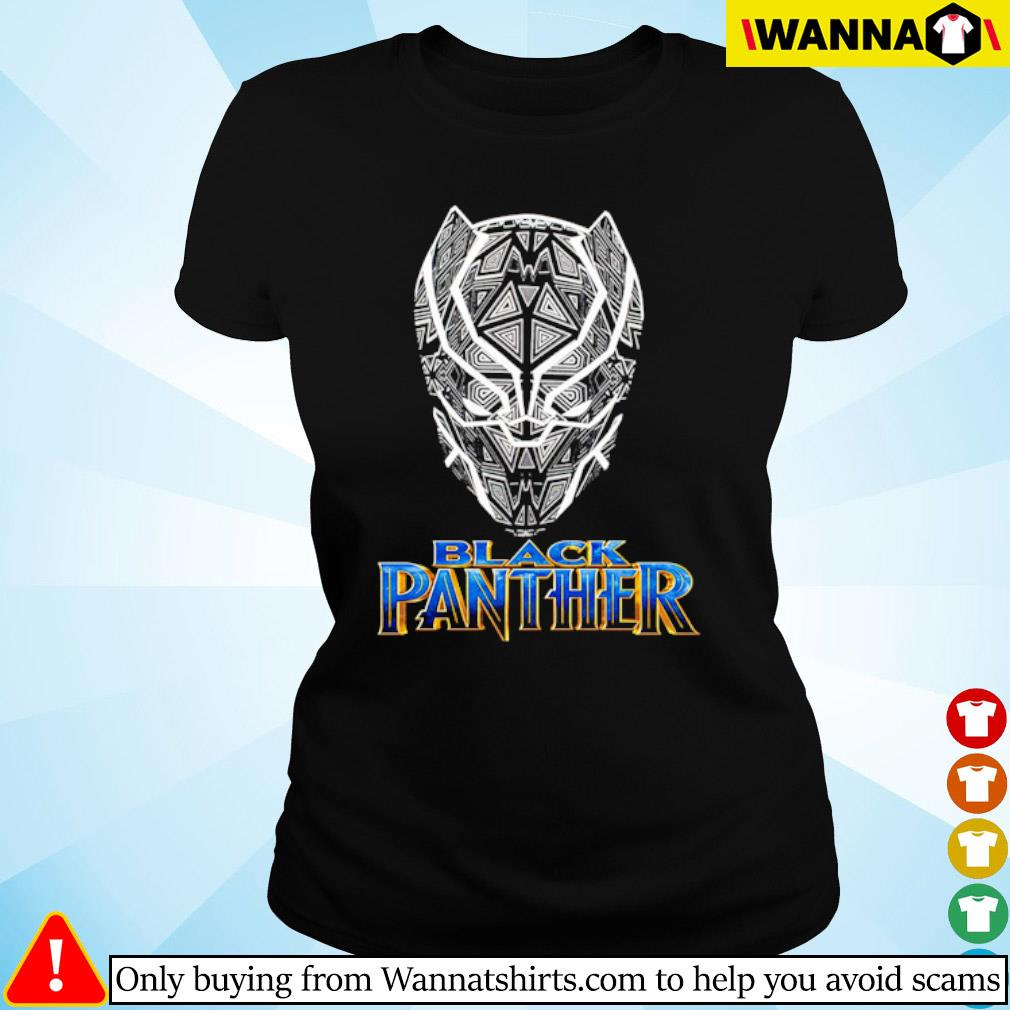Black Panther TT Vertical s ladies-tee black