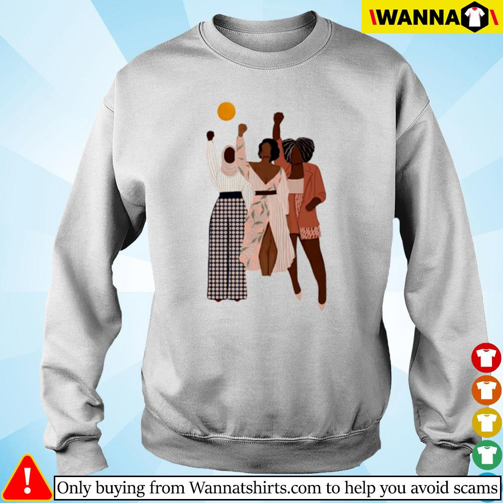 Black women black lives matter s sweater