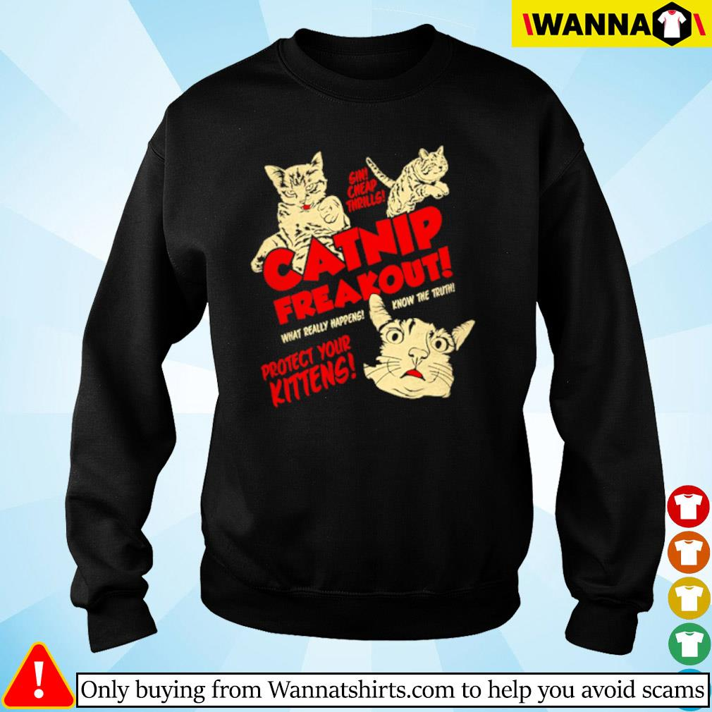 Cats Catnip freakout what really happens know the truth project your kittens s sweater black