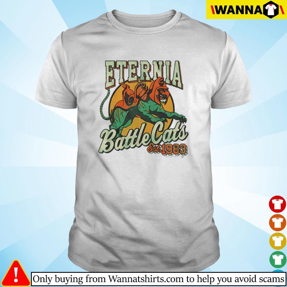 Eternia Battle Cats Masters of the Universe Est. 1983 shirt