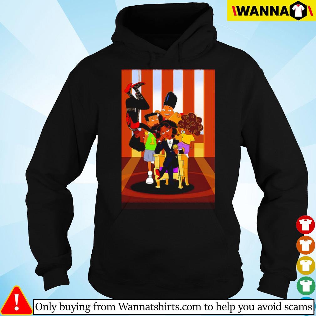 Hunx and His Punx cartoon s hoodie black