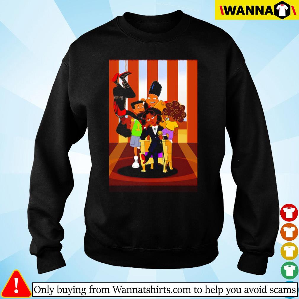 Hunx and His Punx cartoon s sweater black
