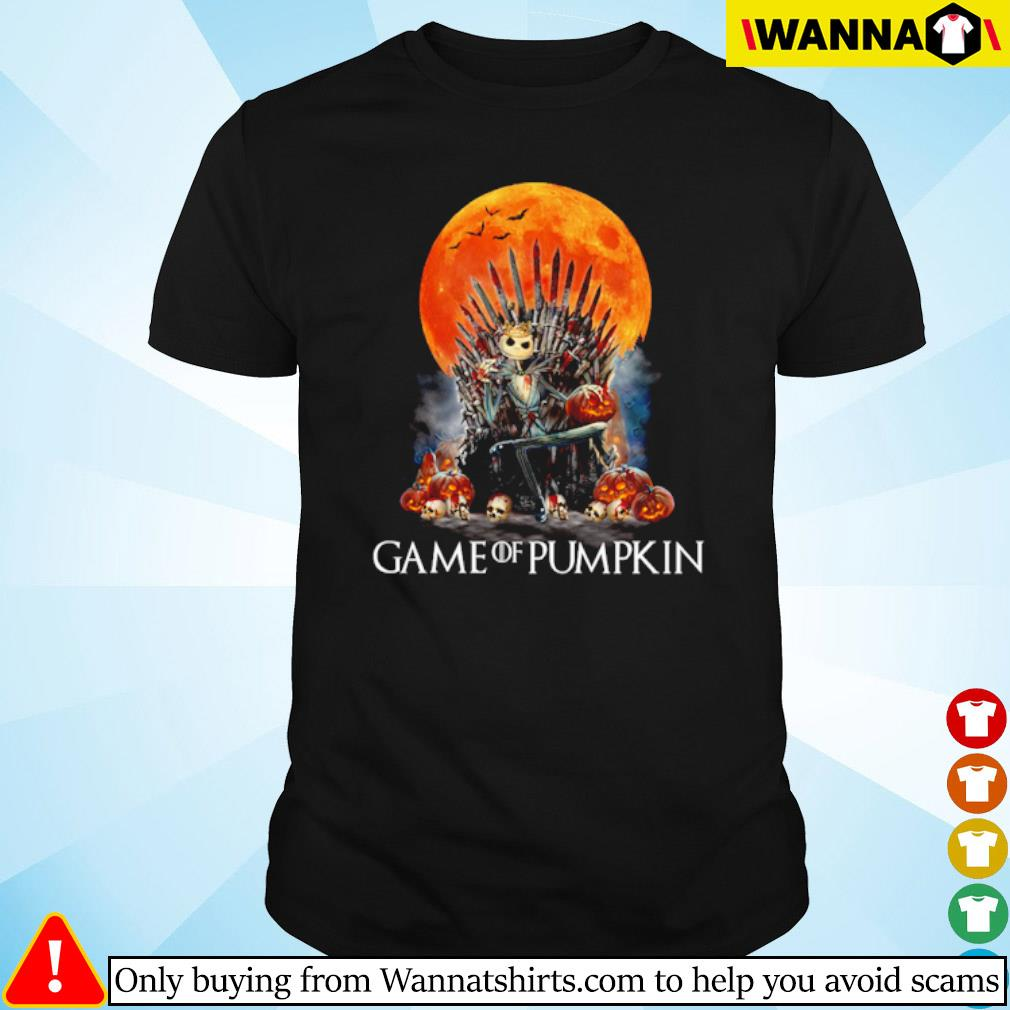 Jack Skellington Game of pumpkin blood moon shirt