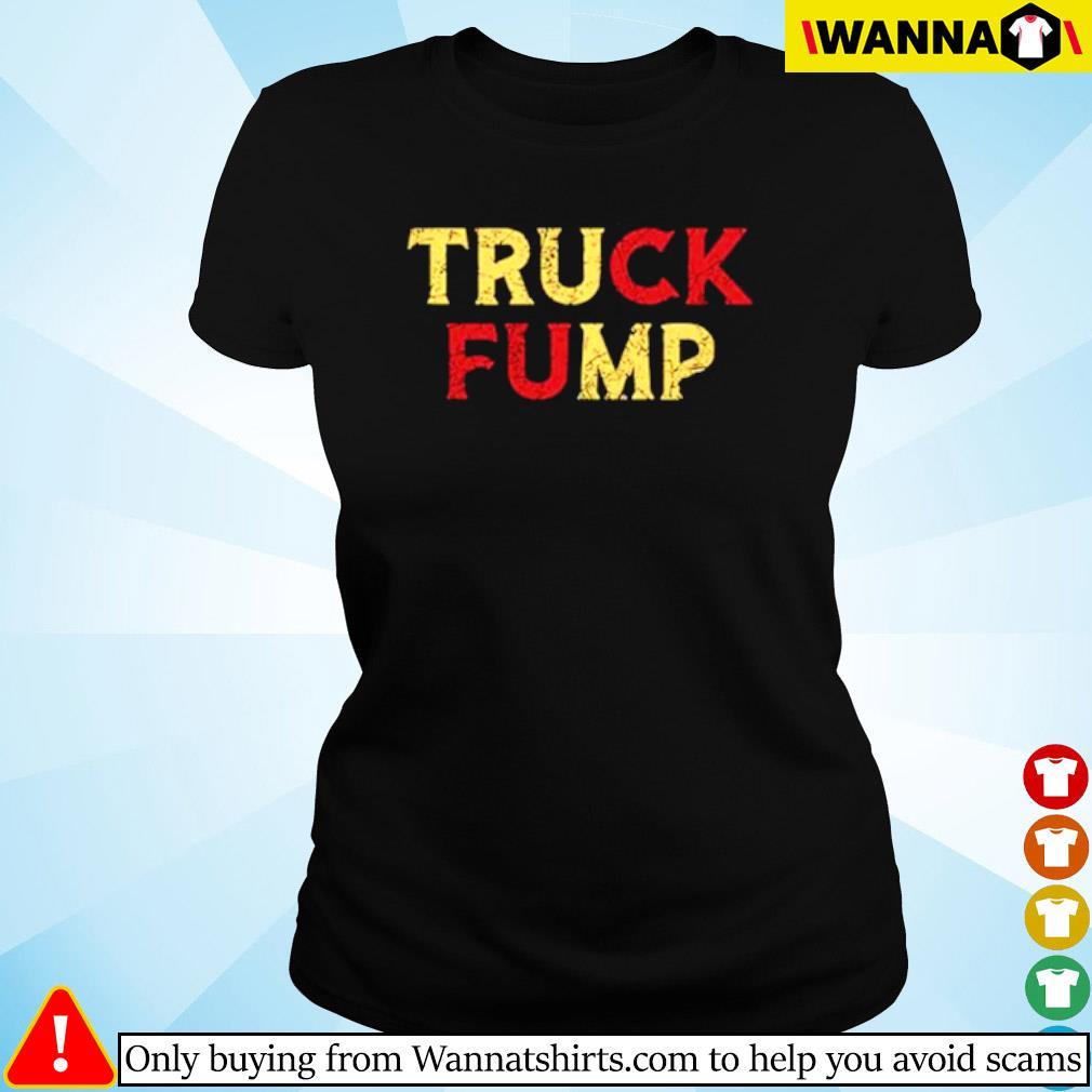Truck Fump Donald Trump s ladies-tee black