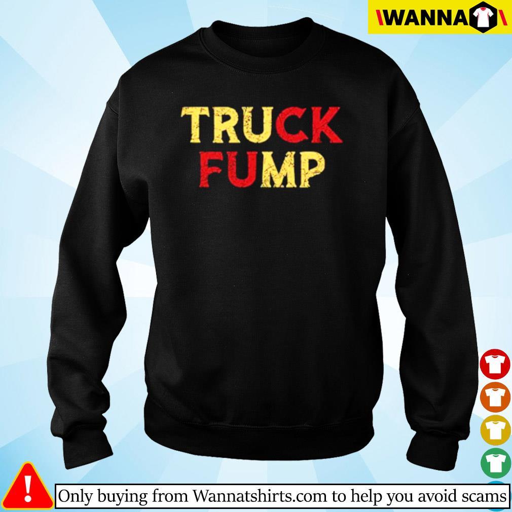 Truck Fump Donald Trump s sweater black
