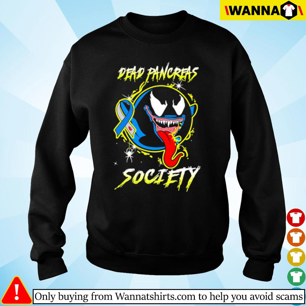 Venom Ghost Boo Dead pancreas society s sweater black