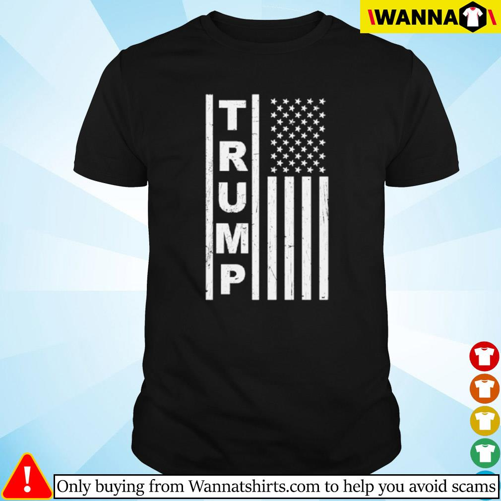 Veteran Trump American Flag shirt
