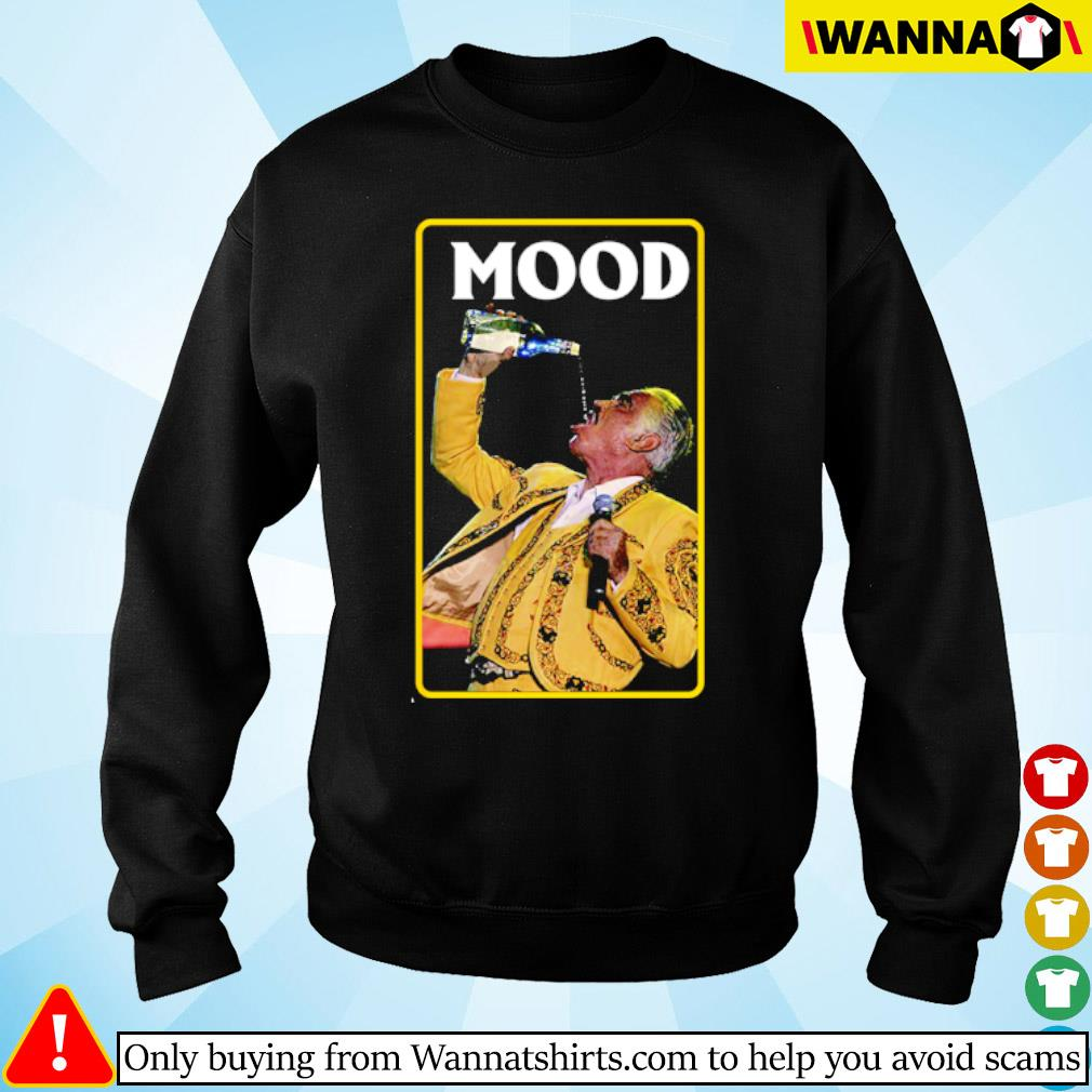 Vicente Fernandez mood s sweater black