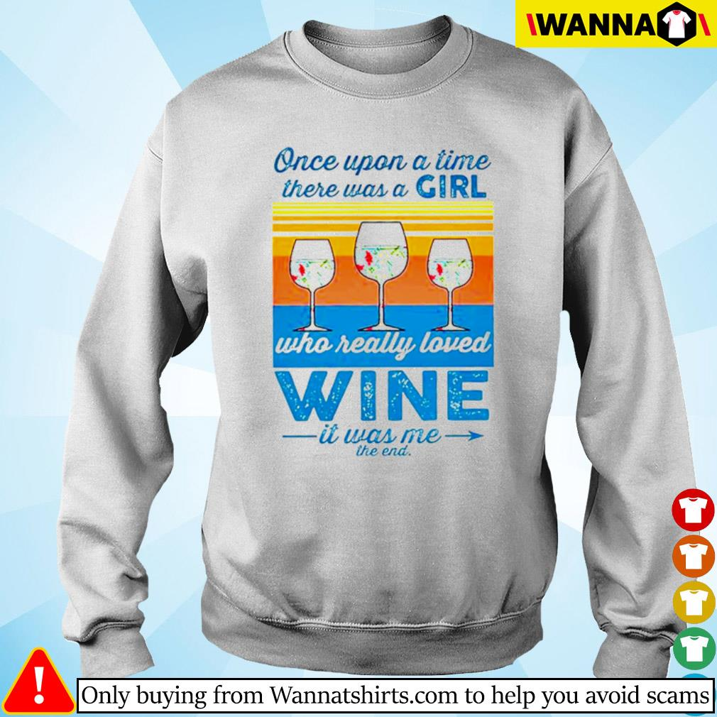 Vintage glasses wine once upon a time there was a girl who really loved wine s sweater