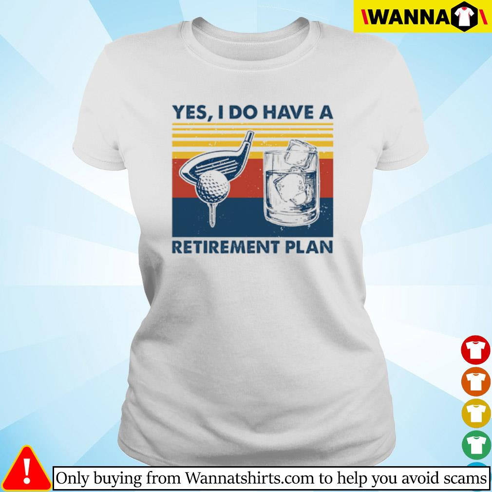 Vintage Golf yes I do have a Retirement Plan s ladies-tee