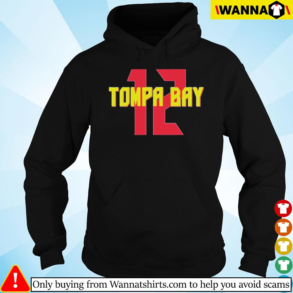 12 Tompa Bay s hoodie black