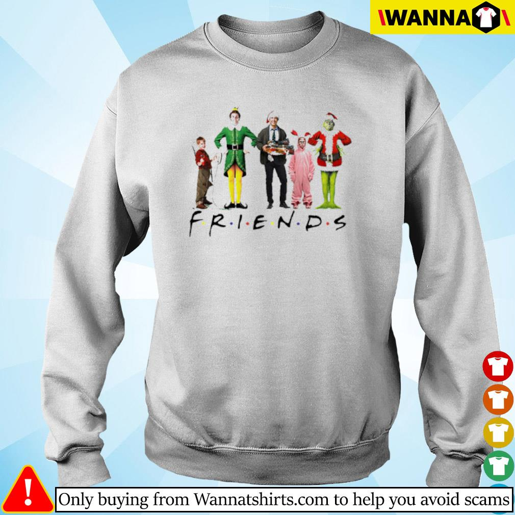 Christmas Grinch Kevin Friends Characters Elf sweater