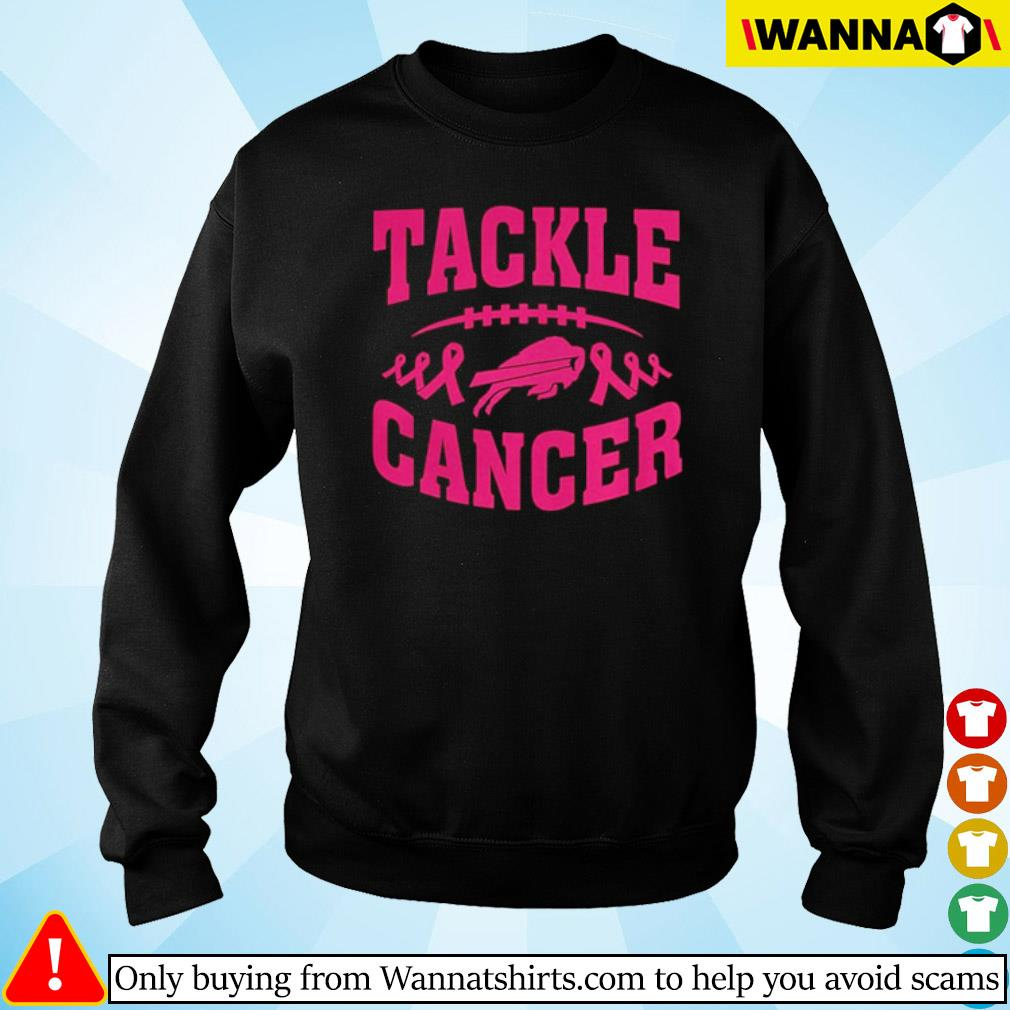 Football breast cancer pink tackle cancer s Sweater