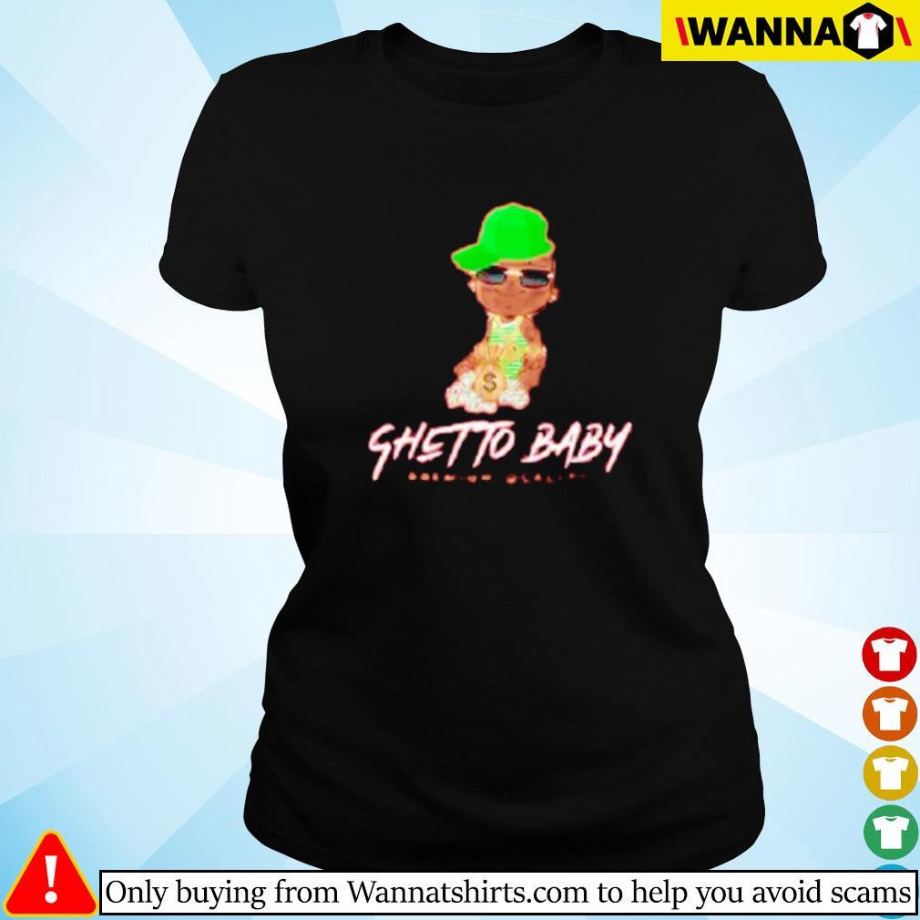 Ghetto baby premium quality s Ladies tee
