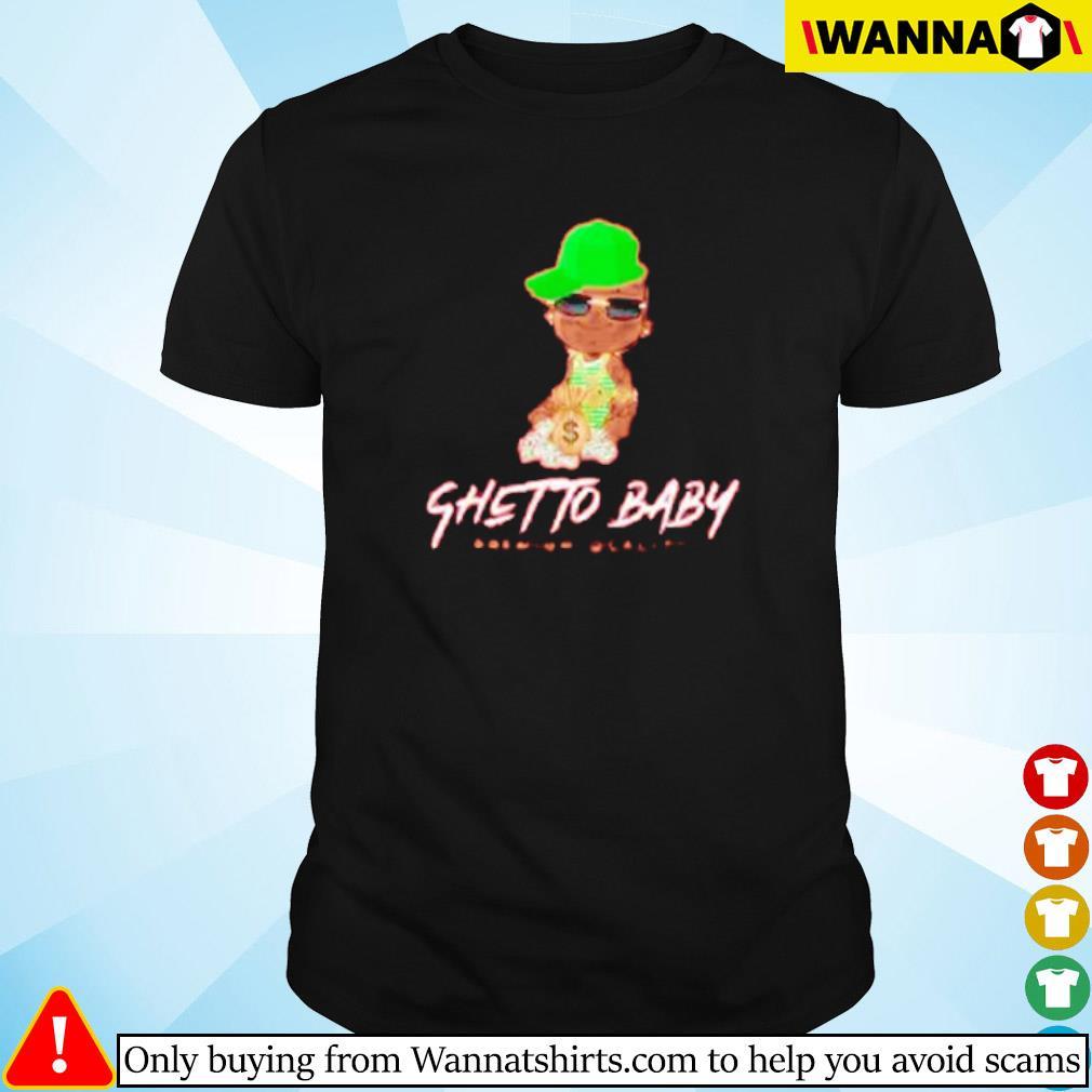 Ghetto baby premium quality shirt