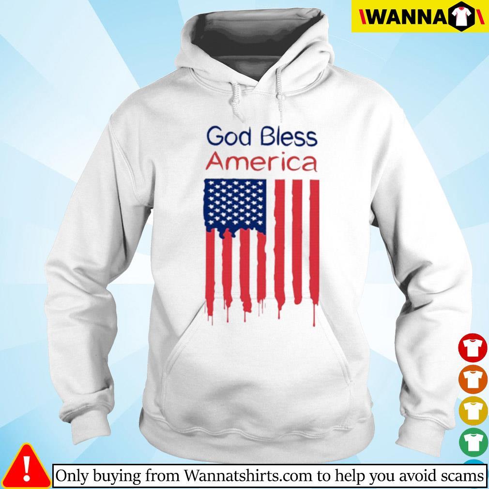God bless America flag s Hoodie