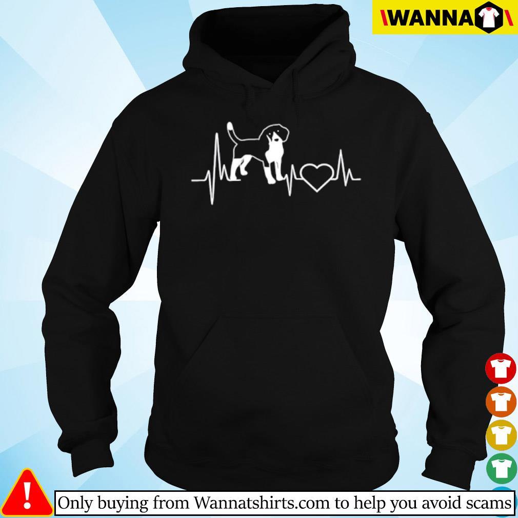 Heartbeat Beagle dog s Hoodie