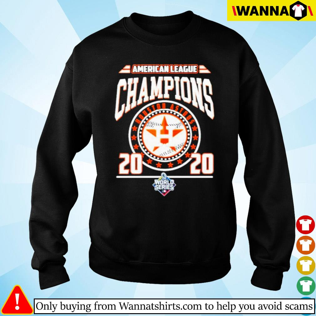 Houston Astros American league Champions 2020 world series s Sweater