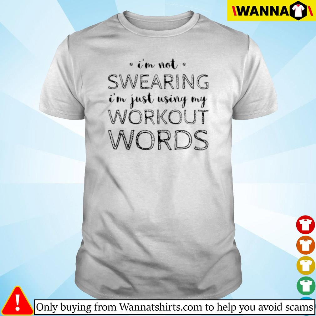 I'm not swearing I'm just using my workout words sihrt