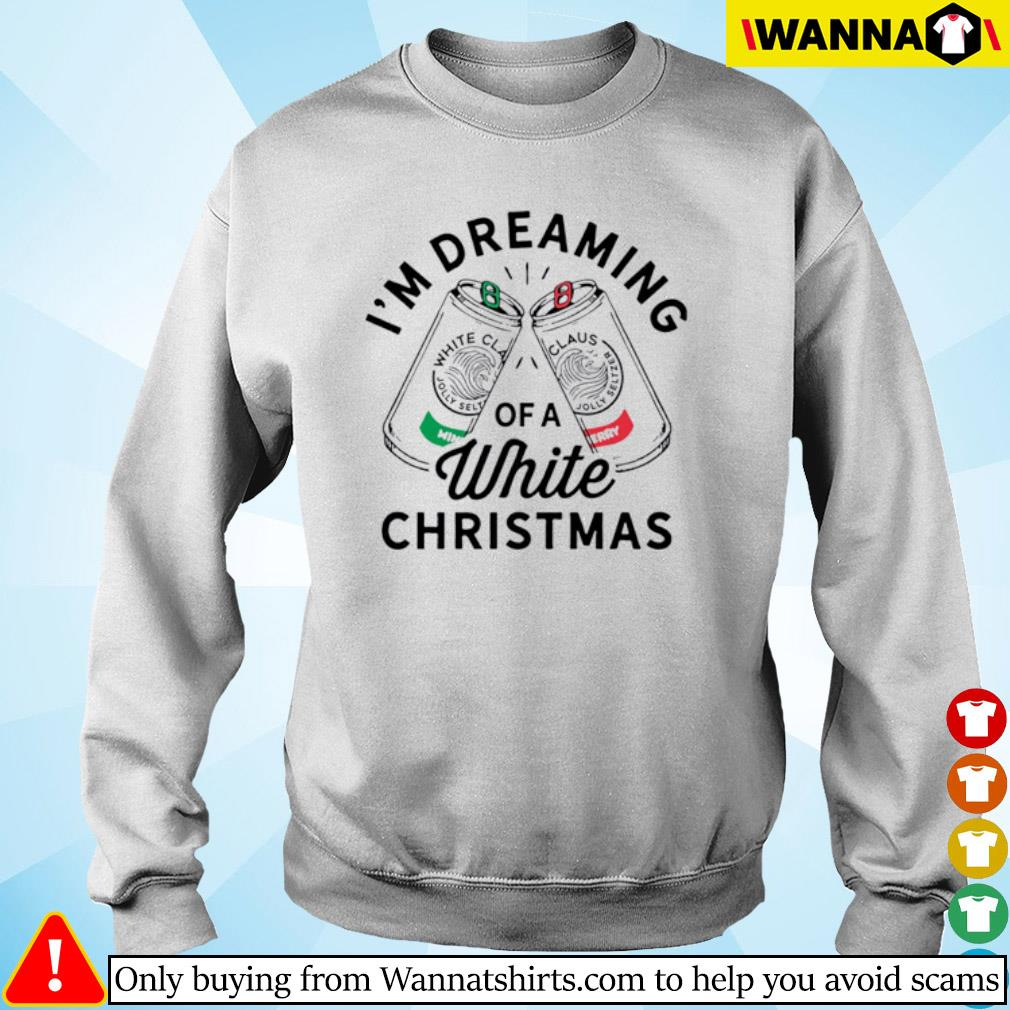 I'm dreaming of a white Christmas sweater