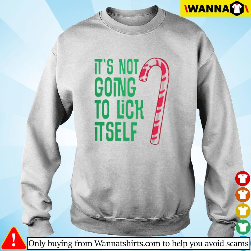 It's not going to lick itself Christmas sweater