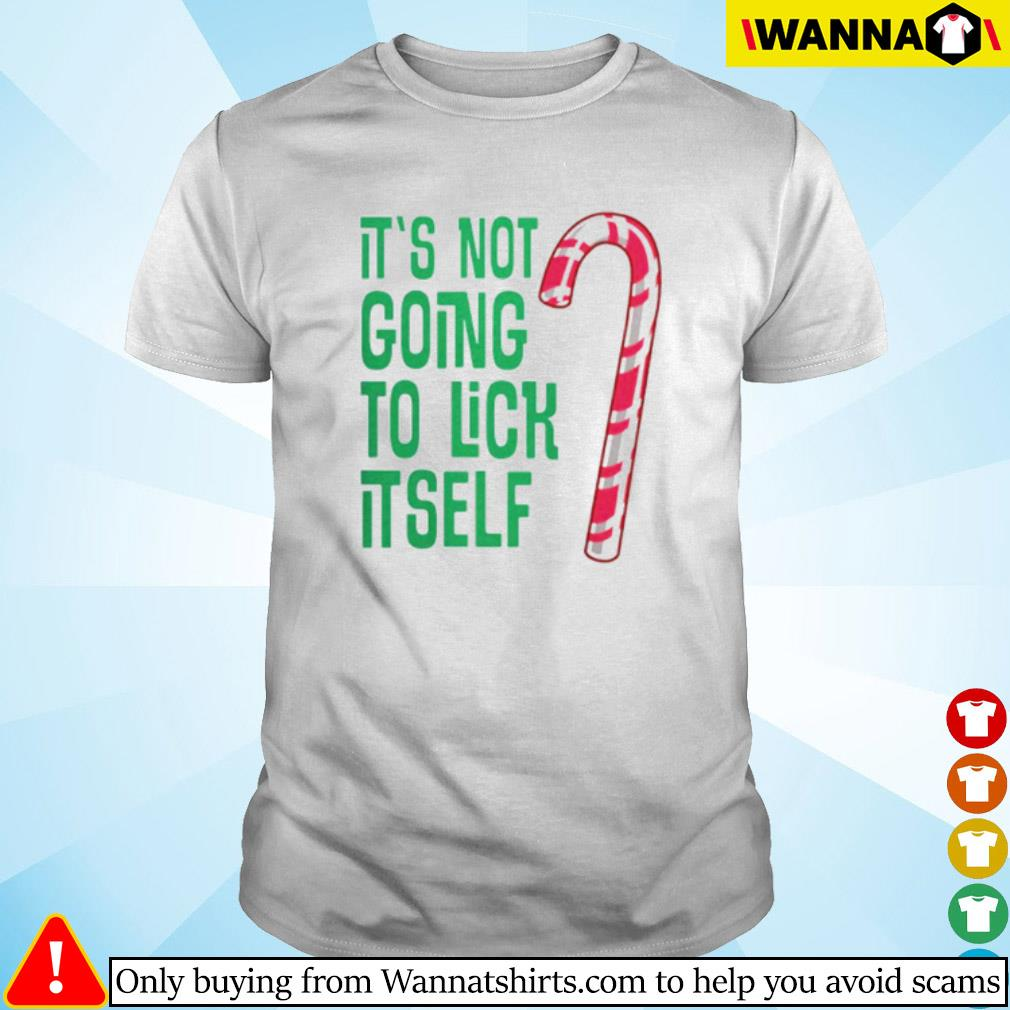 It's not going to lick itself Christmas sweater shirt