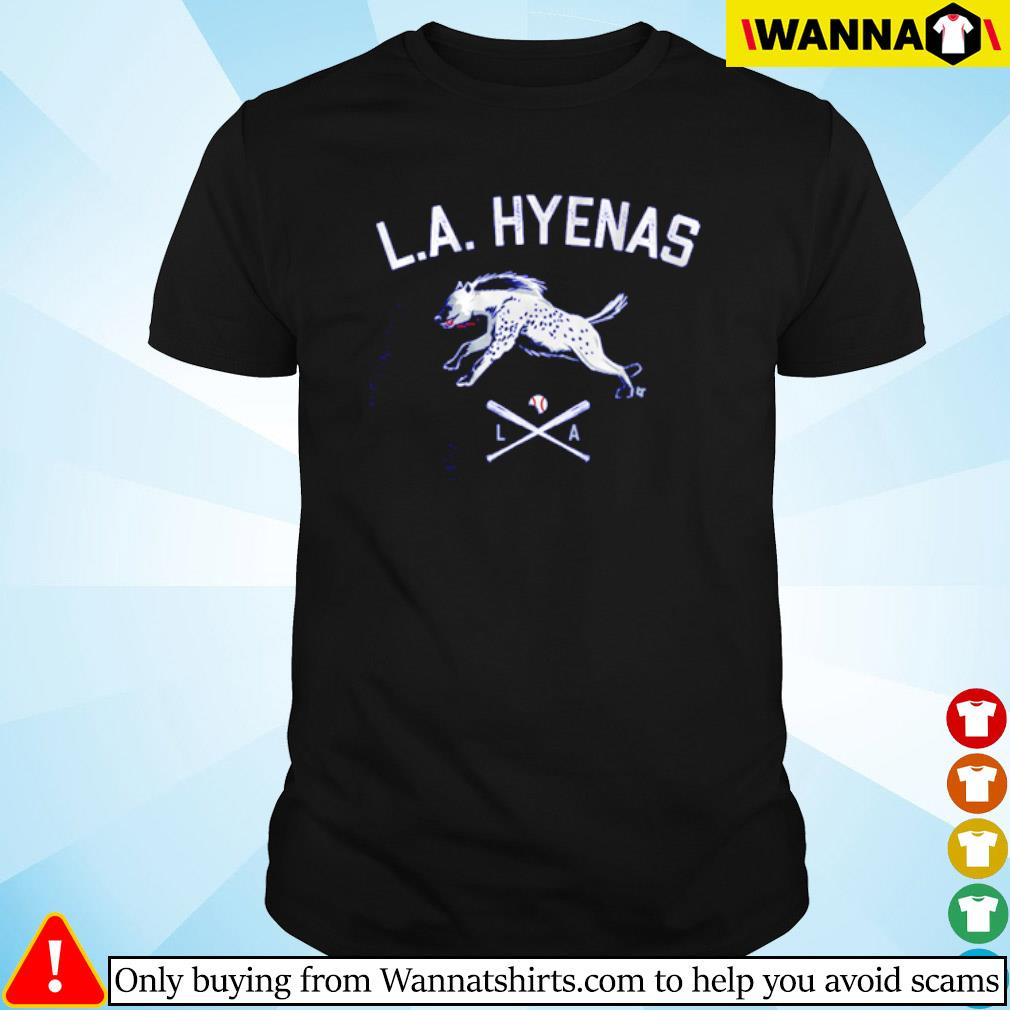 Los Angeles baseball L.A Hyenas shirt