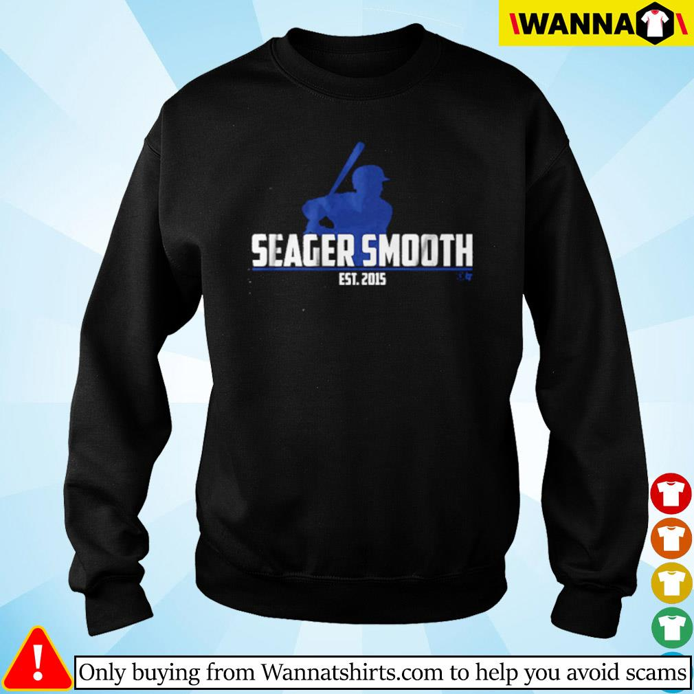 Los Angeles Dodgers Seager Smooth Est.2015 s Sweater