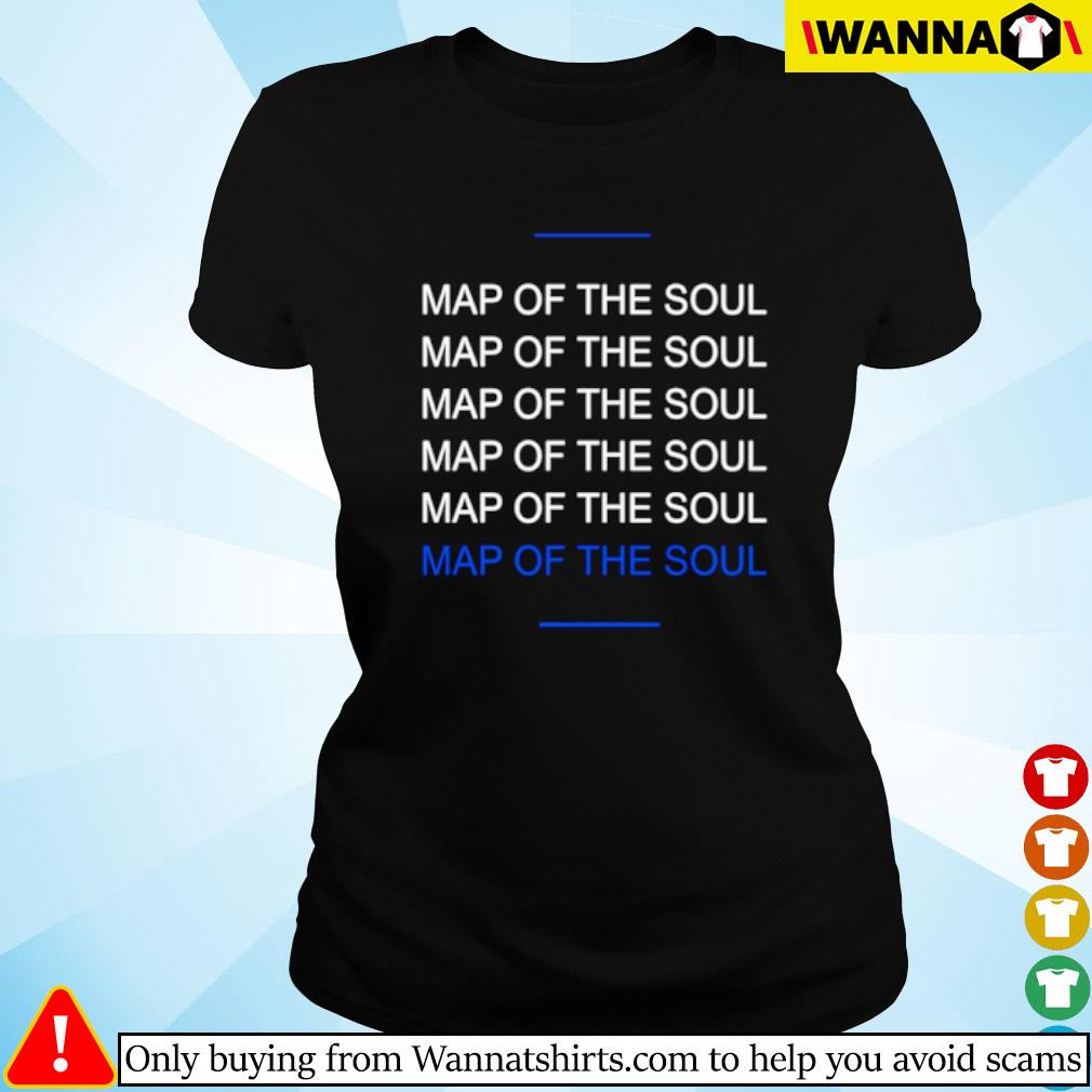 Map of the soul six s Ladies tee