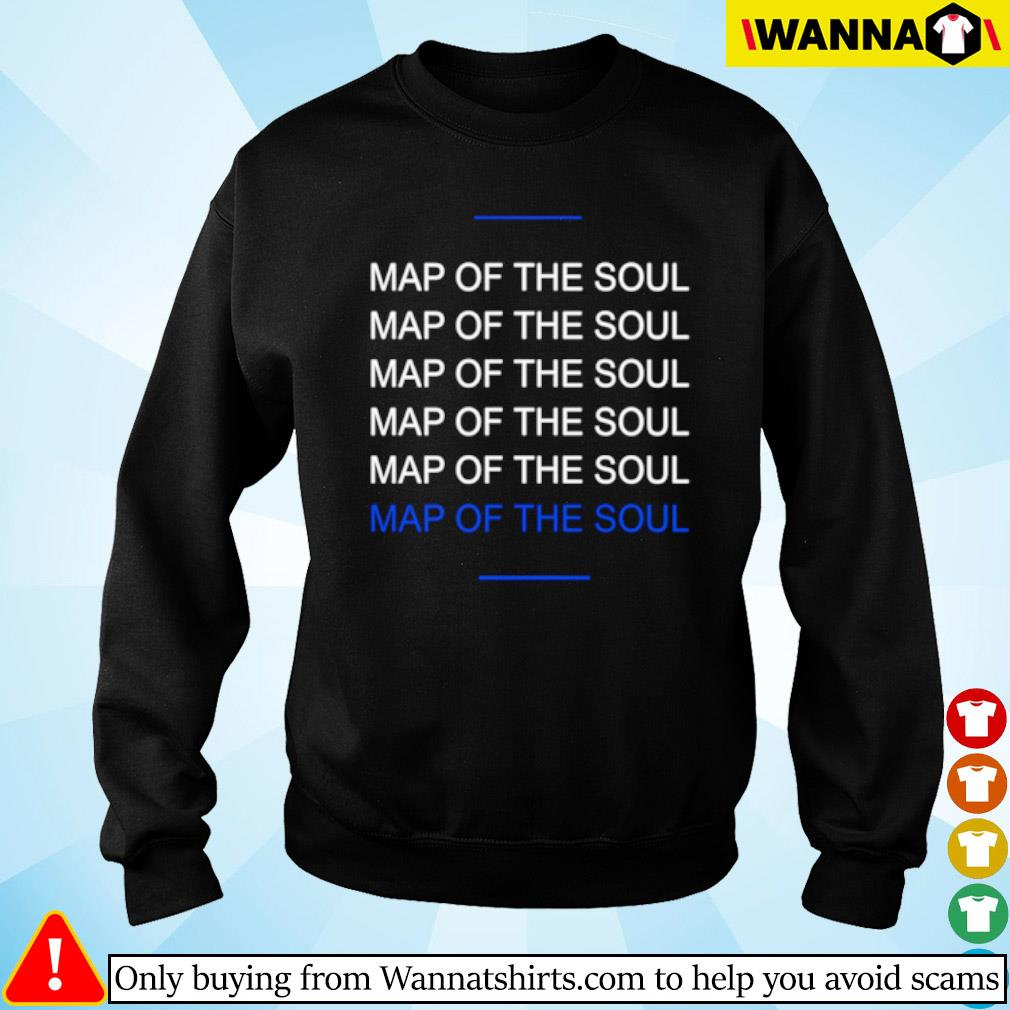 Map of the soul six s Sweater