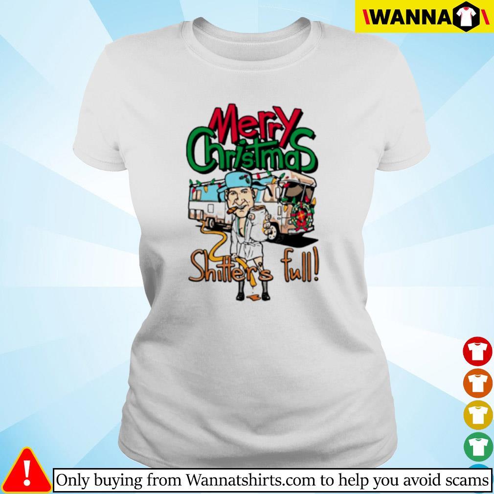 Merry Christmas Shtter's full sweater Ladies tee