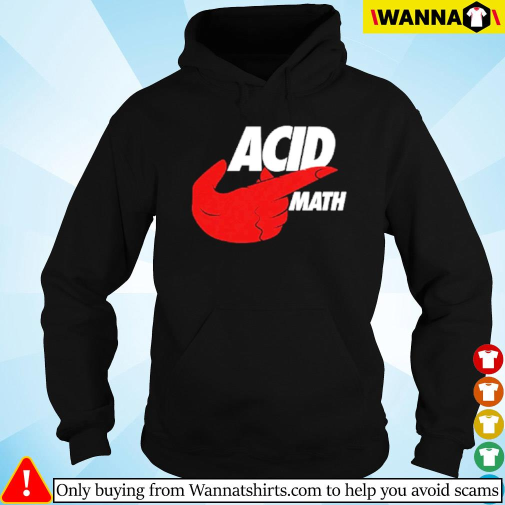 Official ACID Math s Hoodie