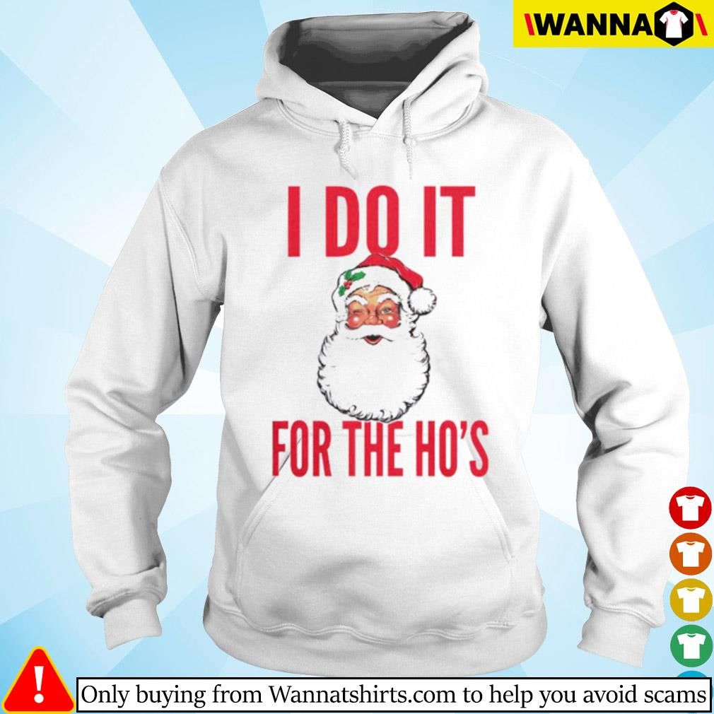 Santa Claus I do it for the Ho's Christmas sweater Hoodie
