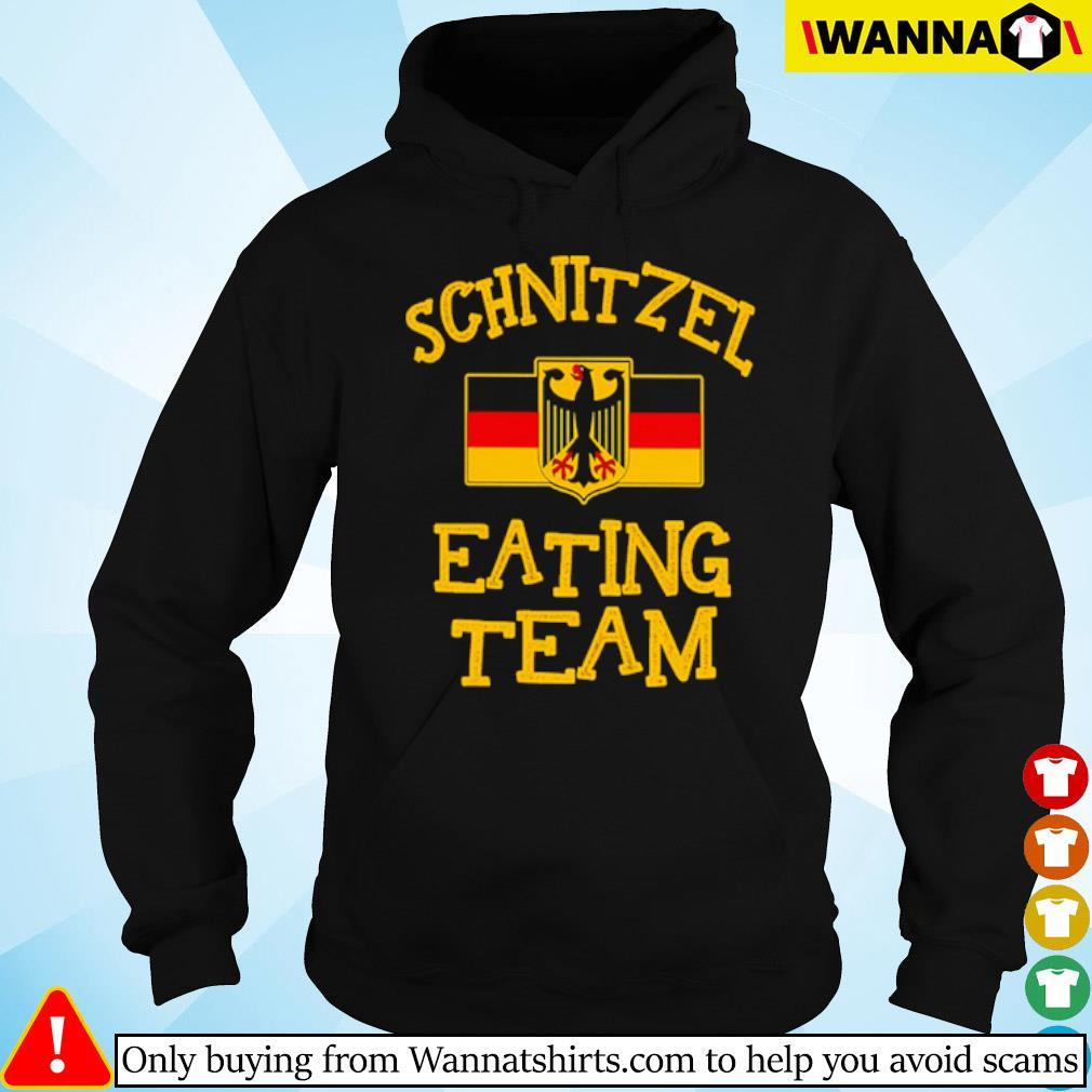 Schnitzel eating team s Hoodie