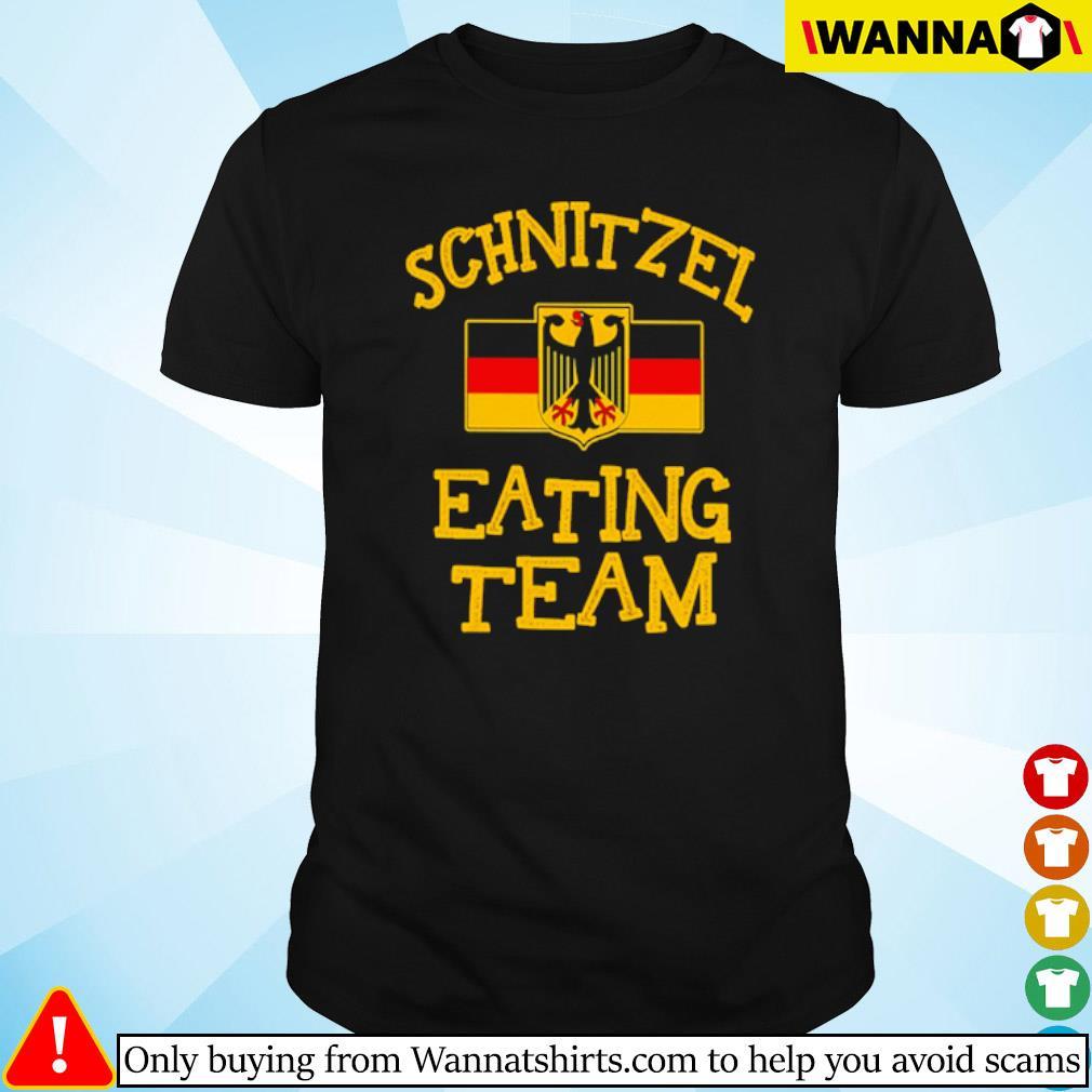Schnitzel eating team shirt