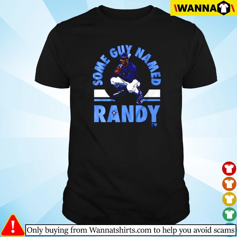 Tampa Bay Rays some guy named Randy shirt