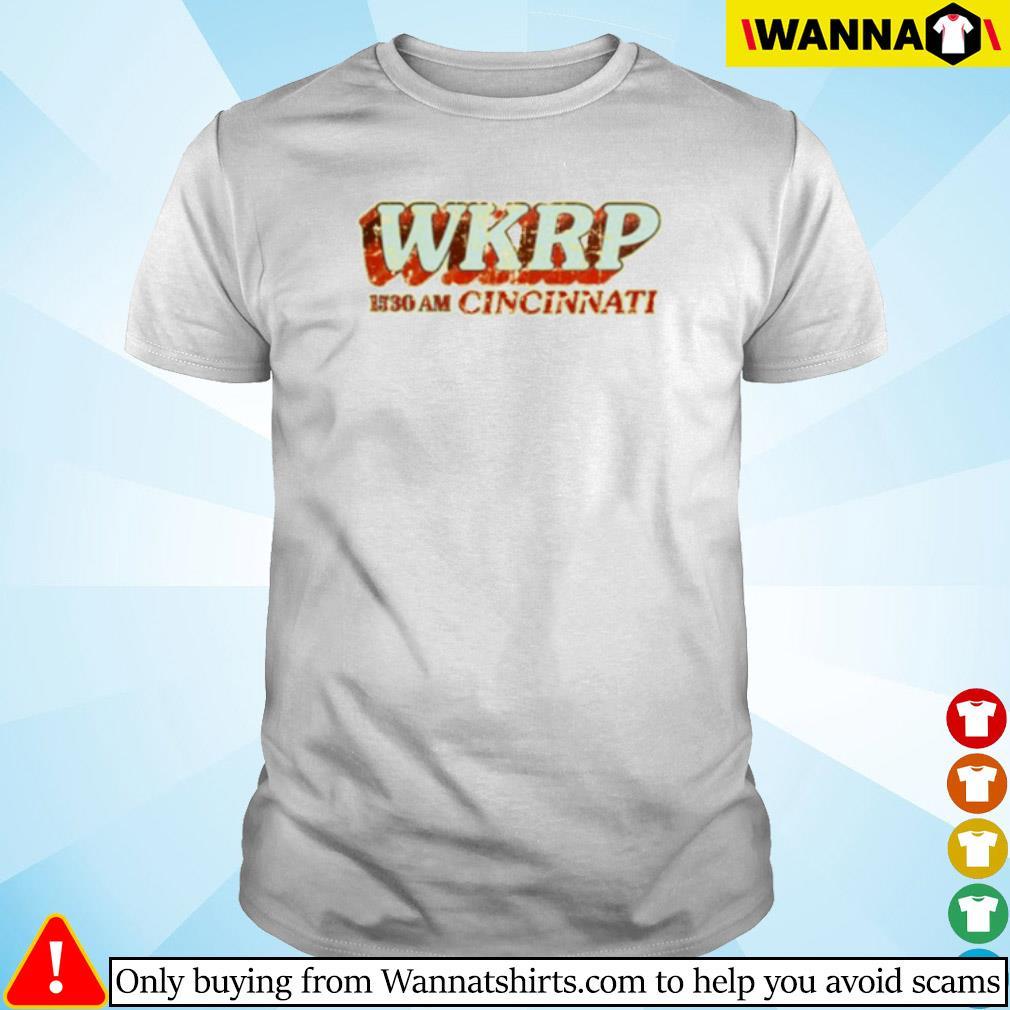 WKRP in Cincinnati 1530 am Cincinnati shirt