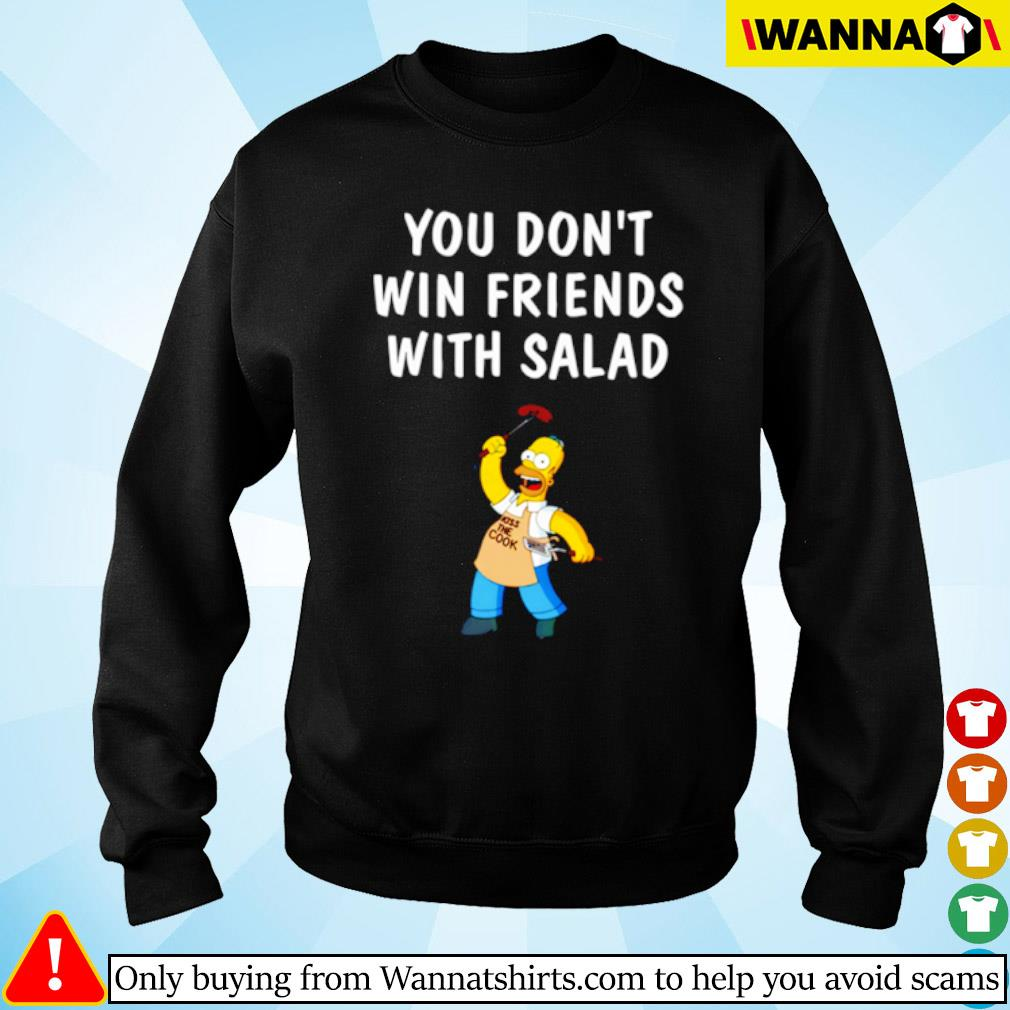 You don't win friends with Salad Simpsons s Sweater
