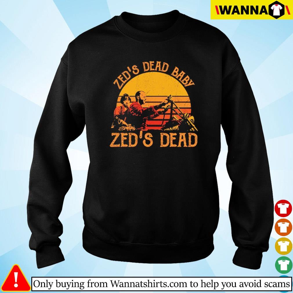 Zed's dead baby Zed's dead vintage s Sweater