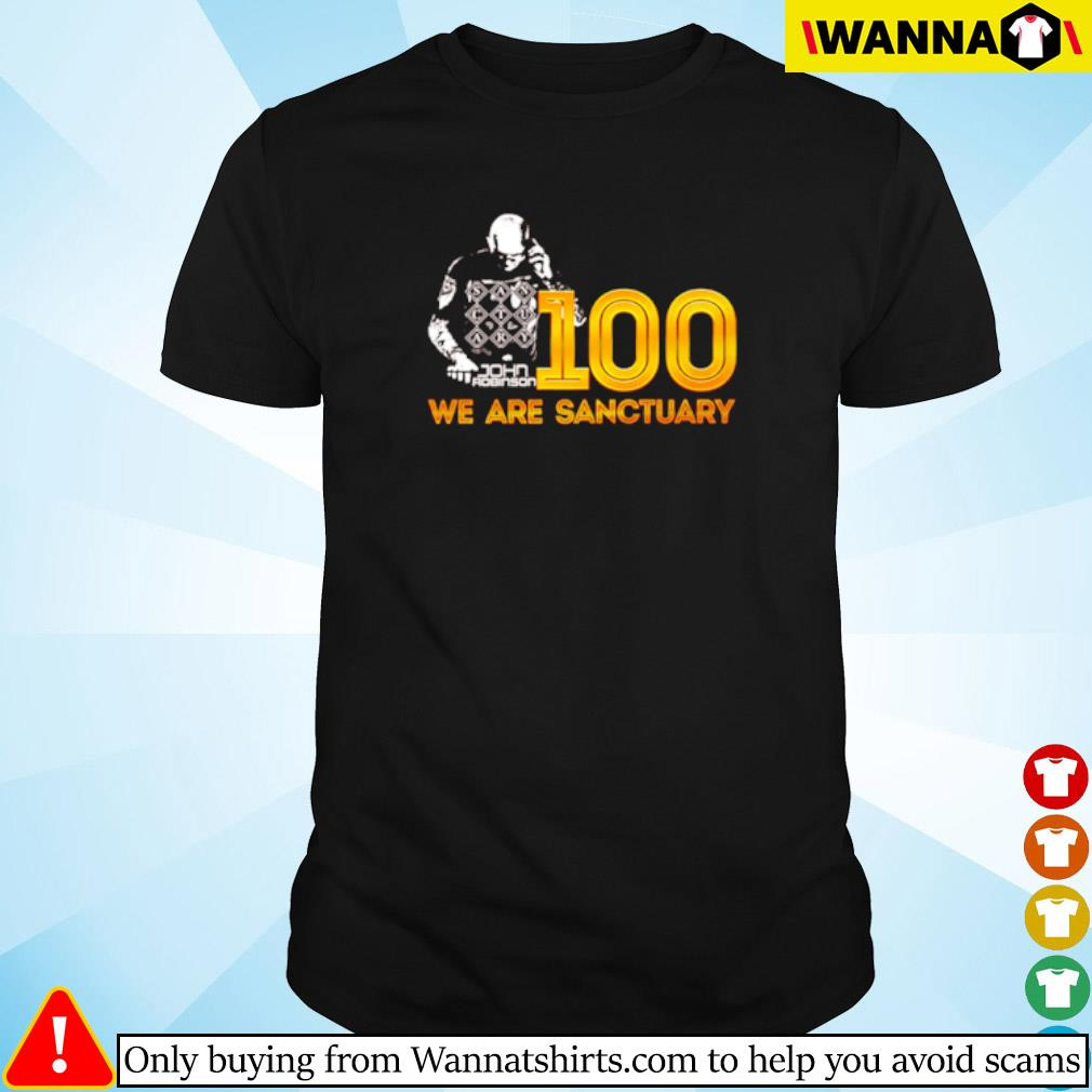 100 We are sanctuary shirt
