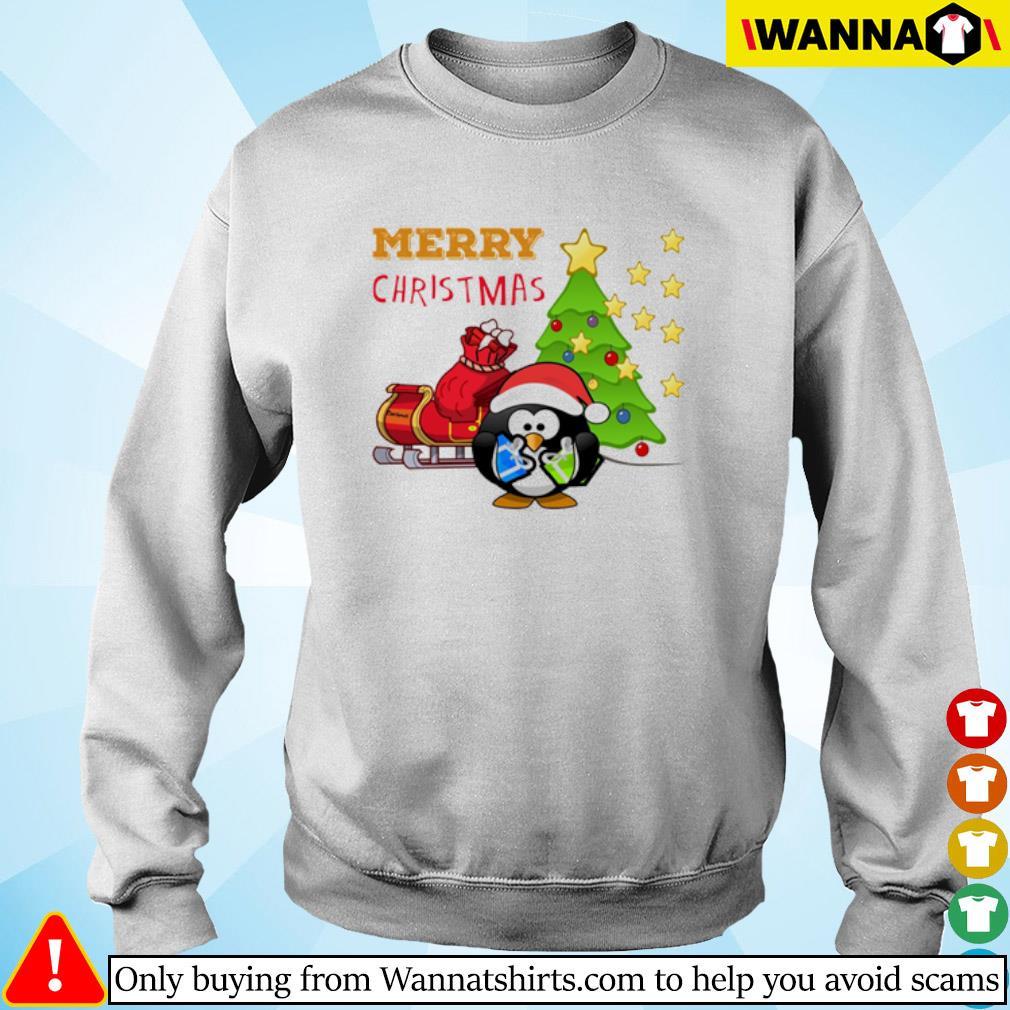 Merry Christmas penguin Christmas gift sweater