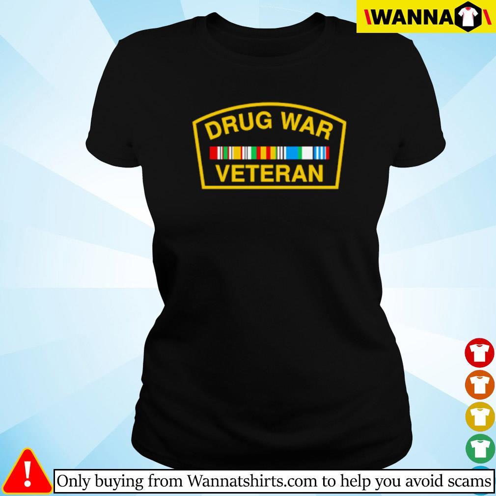 Drug war veteran s Ladies tee