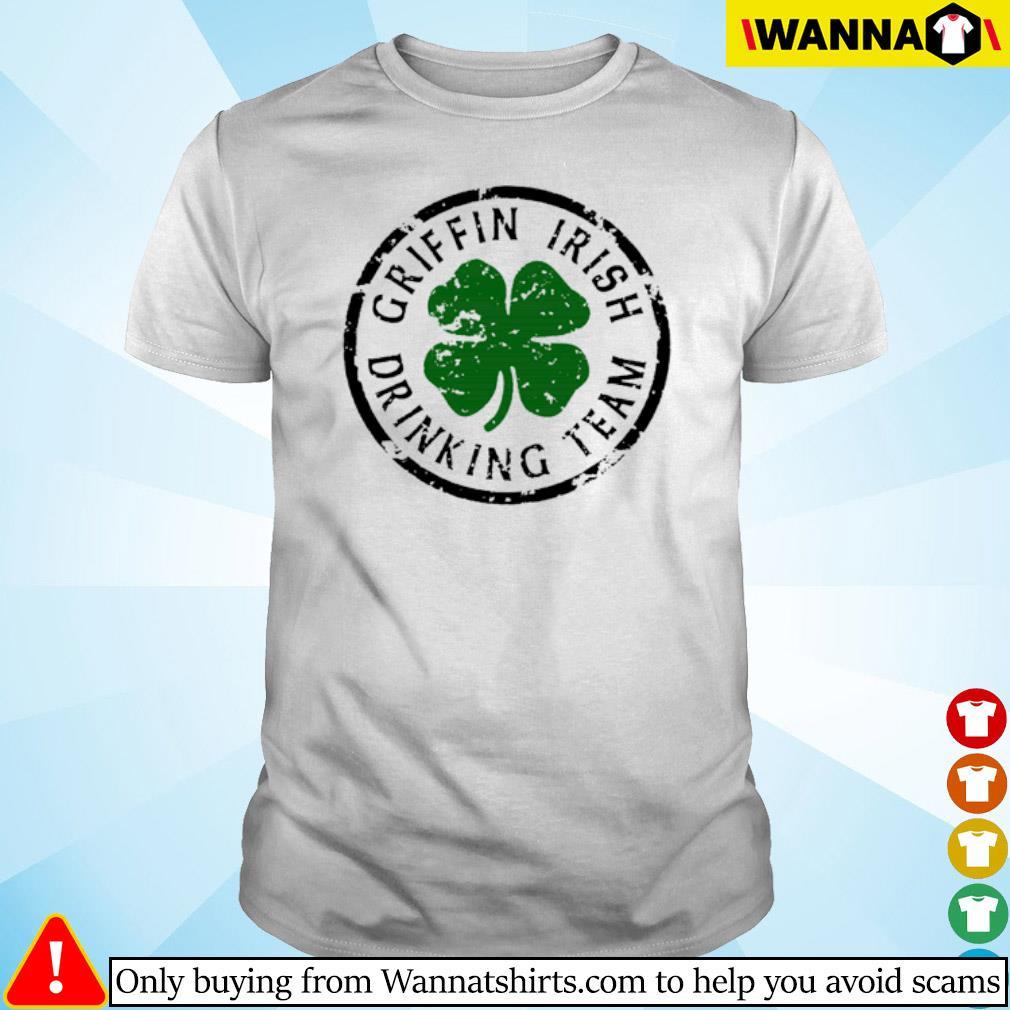 Griffin Irish drinking team shirt