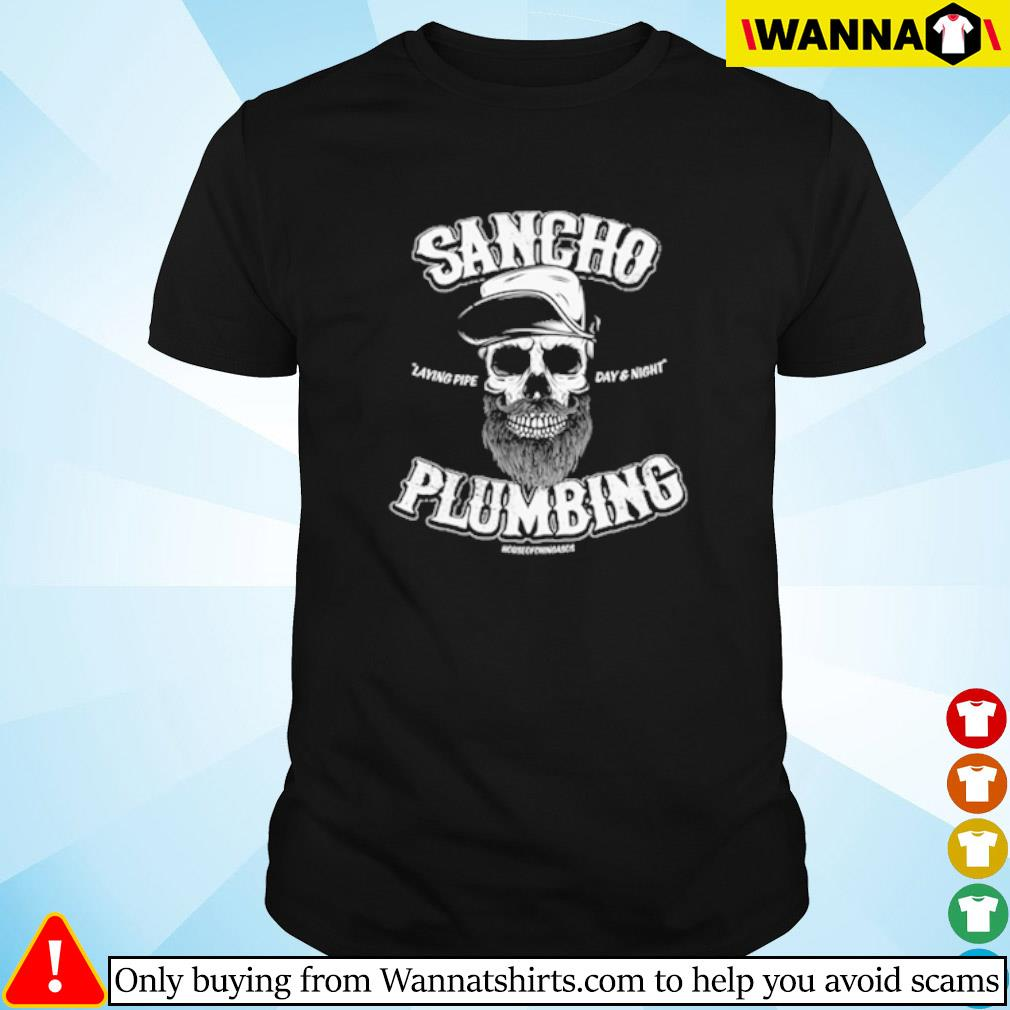 Skull Sancho Plumbing Co. vintage shirt